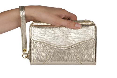 mini case travel by Marie crossbody gold leatherette bag diabetes Myabetic dI7gTw