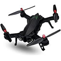 SHY-Drone Quadcopter- MJX B6 Drone RC RTF Brushless 5.8G FPV High resolution 720P Camera Capacity Battery Racing, Flight Stability and Easy to Fly for Beginner, Black