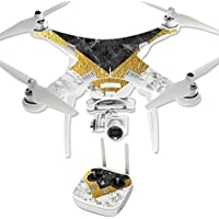 Skin For DJI Phantom 3 Professional – Modern Marble | MightySkins Protective, Durable, and Unique Vinyl Decal wrap cover | Easy To Apply, Remove, and Change Styles | Made in the USA