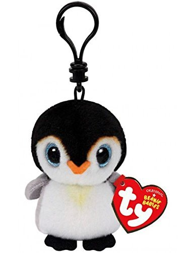 Amazon.com: TY Beanie Boos Pongo El Pingüino, keyclip.: Toys ...