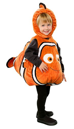 Disney Store Finding Nemo Halloween Costume Size 12-18 Months Infant/Toddler (Disney Store Nemo Costume)