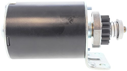 (New Briggs and Stratton Starter for Cub Cadet John Deere Sabo 12V 16T CCW 390838 392749 497595 5742 6HP -18HP Engines)