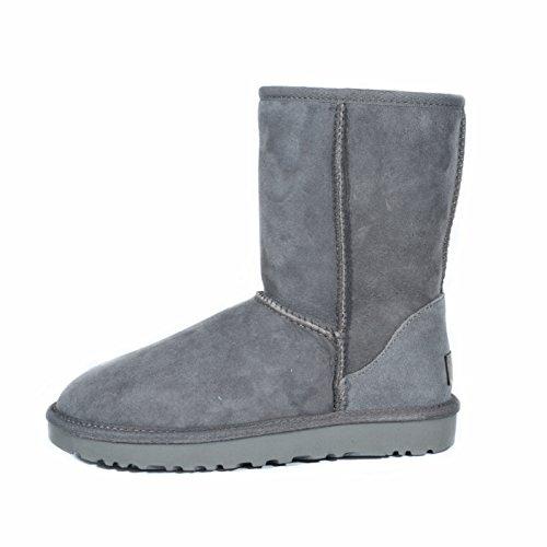 Women's UGG Classic Short II Warm Boots in Grey Colour qwLlxs50
