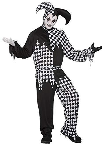 Dark Jester Costume - Standard - Chest Size up to 42