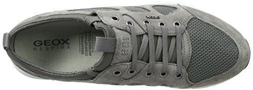 Homme Gris Sneakers greyc9380 Geox U Basses B Snapish anthracite TqZawafp
