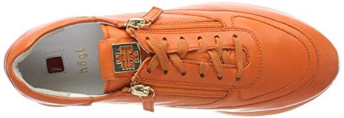 Signore Högl 5-10 1320 8600 Scarpa Da Tennis Arancione (papaia)