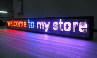 GOWE 16*160pixels,LED INDOOR DISPLAY,PINK COLOR,COLORFUL LED SHOP SING,RED,BLUE,PINK LED,2lines,20characters 1