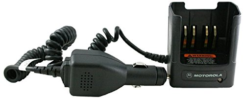 OEM Motorola RLN4883 Travel Battery Charger Car cradle and power supply includes volt regulator light adapter, custom charger base, mounting bracket and coil cord works with HT750 HT1250 HT1250LS HT1250LS+ HT1550-XLS PR860 MTX850 MTX950 MTX8250 MTX9250 PRO5150 Two Way Radios Radio RLN4883, RLN4883A, RLN4883B