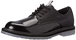 CK Jeans Men's Helix Matte Box/Smooth Oxford, Black, 12 M US