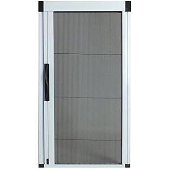 Greenweb retractable screen door 40 inch by 84 inch kit for Retractable screen door reviews