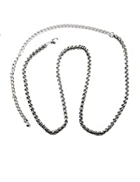 NYfashion101 Fashionable Adjustable Single Link Chain Belly Chain Belt IBT2007R