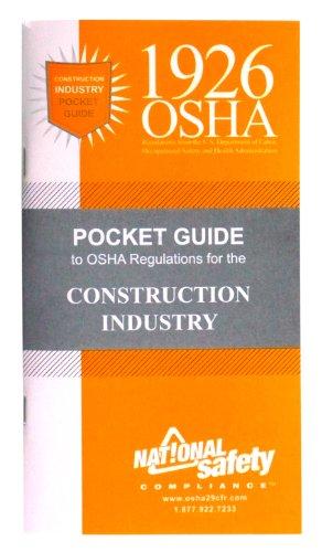 1926 OSHA Construction Pocket Guide