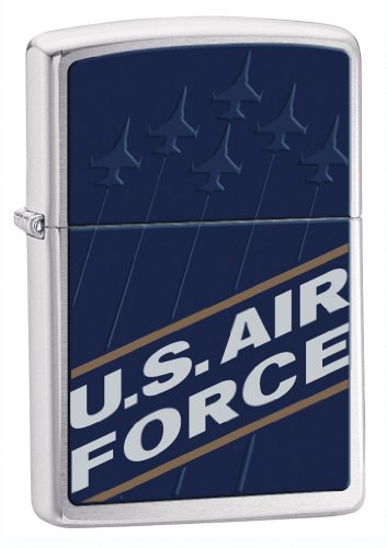 (Zippo Military Air Force Blue Pocket Lighter)