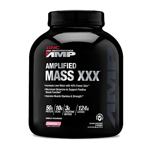 GNC Pro Performance AMP Amplified Mass XXX - Strawberry