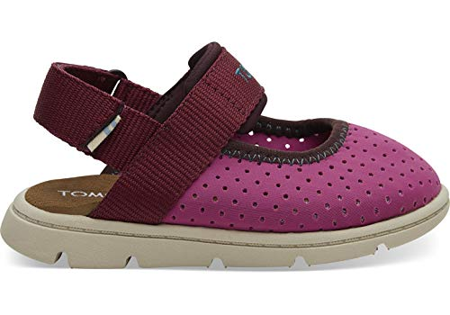 - TOMS Kids Baby Girl's Caity (Toddler/Little Kid) Rose Violet Nylon Perforated 5 M US Toddler