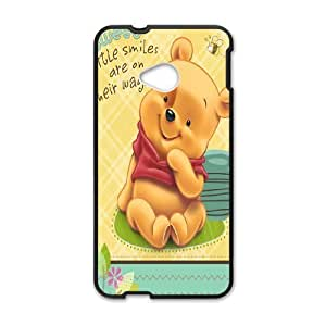 HTC One M7 Cell Phone Case Winnie The Pooh & Quotes Case Cover PA8P313881