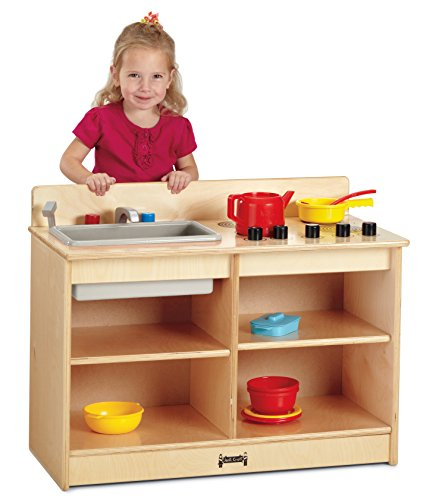 - Jonti-Craft 0673TK Toddler 2-in-1 Kitchen