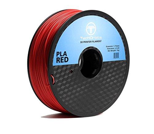 Superior 1 Kg Spool (TechOrbits 3D PLA 3D Printer Filament Dimensional Accuracy +/- 0.05 mm 1 kg Spool 1.75 mm)
