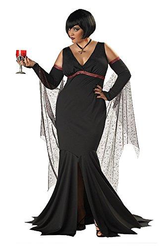 Immortal Seductress - XX-Large - Dress Size 16-18 (Va Va Vamp Wig)