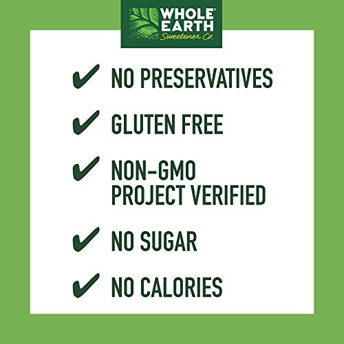 WHOLE EARTH SWEETENER Stevia and Monk Fruit Sweetener, Erythritol Sweetener, Sugar Substitute, Zero Calorie Sweetener, 1,000 Stevia Packets by Whole Earth Sweetener Company (Image #2)