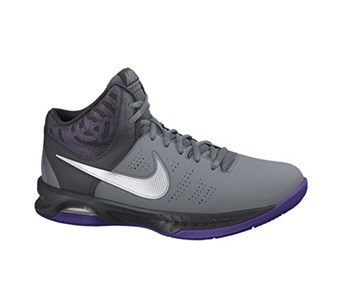 Purple Basketball Shoe - Nike Men's Air Visi Pro VI Basketball Shoes Cool Grey/Anthracite/Court Purple/White 9.5 D(M) US