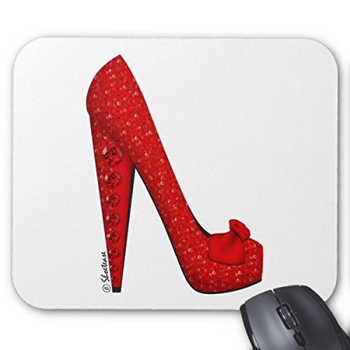 Dorothy Ruby Pump Mouse Pad Eco Friendly Cute Gaming Mouse Mat Stylish, durable office accessory and (Dorothy Pumps)