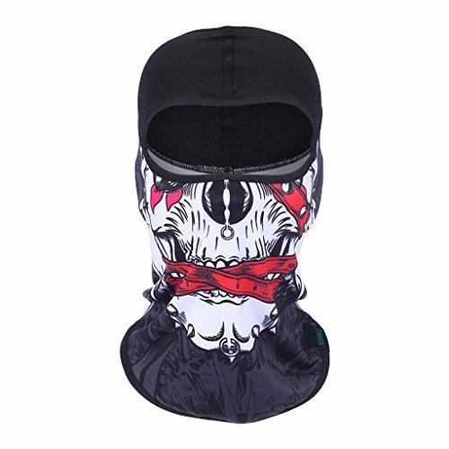 98ef3acee49 Ski Mask Balaclava Winter Fleece Warmer Windproof Face Riding Helmet Hood  Gear - Buy Online in Oman.