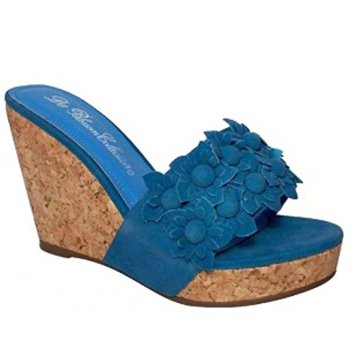De Belossom Collection Daisy Wedge Blue