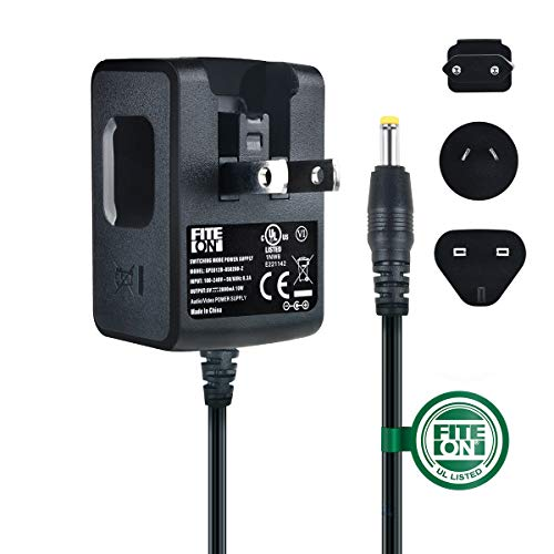 FITE ON 5V AC Adapter Compatible with Kodak M853 M1033 V1003 M863 M340 M763 M873 V550 DX7590 M340 M341 V803 DX7440 Z730 Z760 Camera UL Listed Charger with EU,AU&UK Plugs (Charger Dx7440)