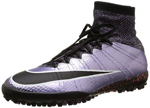 Nike Mercurialx Proximo Tf, Botas de Fútbol para Hombre Morado / Negro / Naranja (Urban Lilac / Black-Bright Mango)