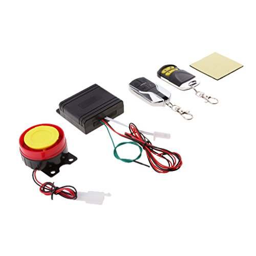Homyl 12 V diefstalbeveiliging voor motorfiets, scooter, alarm, sirene, 125 dB, veiligheid met afstandsbediening…