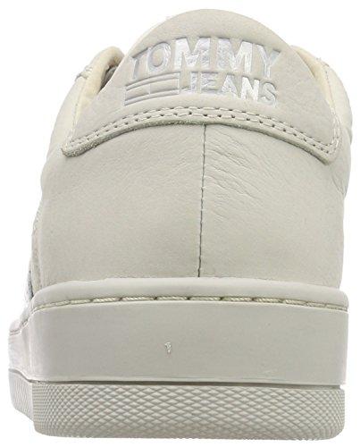 Basket Ginnastica 101 Basse Scarpe Nubuck Uomo Sneaker Tj ice Denim Da Bianco Hilfiger 78A0tH