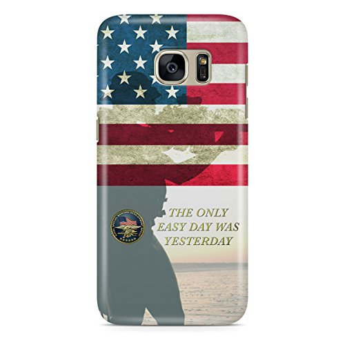 Phone Case For Apple iPhone 6 Plus - Navy Seals USA Snap-On Lightweight