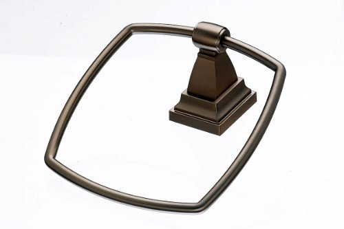 Top Knobs STK5-BB  Stratton Bath Ring - Towel Ring Bb