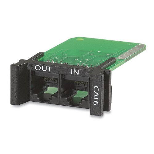 CAT 6 NETWORK SURGE PROTECTION MODULE