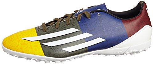 adidas Botas de Fútbol de Sintético Para Hombre SOGOLD/Ftwwht/eargrn 42.0EU/26,5 cm, Color - Gelb/Weiß, Tamaño 40 - gelb/weiß
