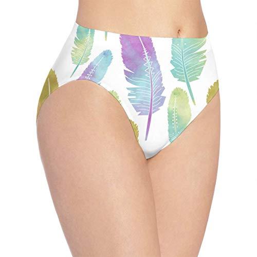 OSBLI Girls Briefs Underwear Feather Customized Soft