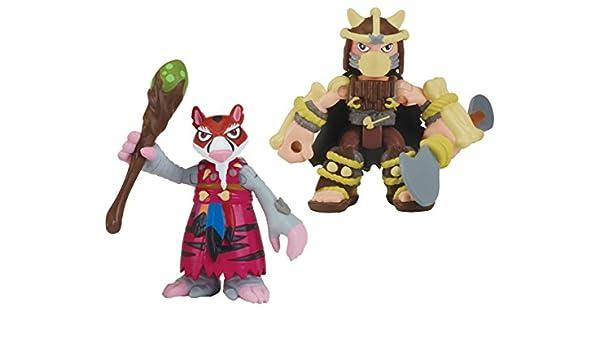 Las Tortugas Ninja Dino Dino en Astilla y Shredder Heroes ...