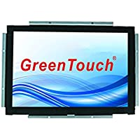 GreenTouch 15 inch open frame touch monitor infrared touch technology with VGA and DVI