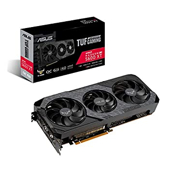 Image of ASUS TUF Gaming 3 AMD Radeon RX 5600XT OC Edition Gaming Graphics Card (PCIEe 4.0, 6GB, GDDR6, HDMI, DisplayPort, 1080p Gaming, Axial-tech Fan Design, 2.7-Slot Design (TUF-3-RX5600XT-O6G-EVO-GAMING) Graphics Cards