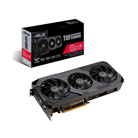 ASUS TUF Gaming 3 AMD Radeon RX 5600XT OC Edition Gaming Graphics Card (PCIEe 4.0, 6GB, GDDR6, HDMI, DisplayPort, 1080p…