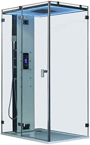 Cabina ducha Hammam archipiélago cristal® 120 g: Amazon.es: Bricolaje y herramientas