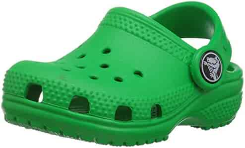 Crocs Unisex-Baby Classic Clog K Shoe, Grass Green, 7 M US Toddler