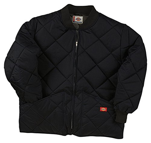 Dickies Drop Ship Diamond Quilted Nylon Jacket, 2XL, BLACK