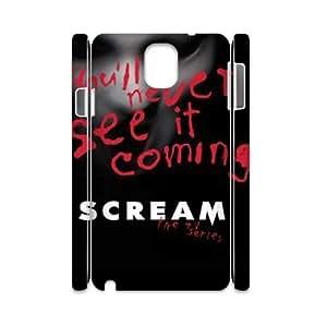 XOXOX Cover Custom Scream Phone 3D Case For Samsung Galaxy note 3 N9000 [Pattern-6]