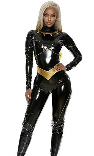 Bad Blood Super Sexy Super-Villain Comic Book Character Costume Black