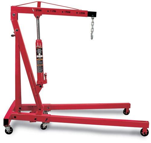 Powerbuilt 940194 2-Ton Storable Shop Crane