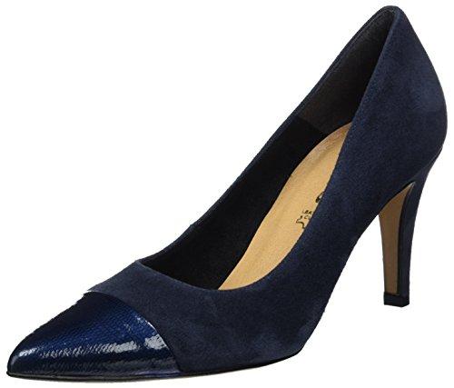 Tamaris 22427, Escarpins Femme Bleu (Navy 805)