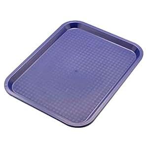 Sunnex Polypropylene Fast Food Tray 81240L, 41.5 x 31 cm, Dark Blue