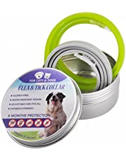 2PCS Collar for Cats and Dogs Natural Botanic Essential Oil Protection Collar, 8 Months Effectiveness Protection, Adjustable Size, Waterproof